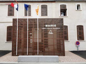 Mairie de Tresserre, façade