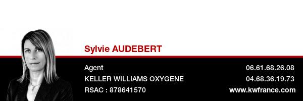 Sylvie Audebert, carte de visite.