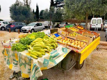 Légumes, marché de Tresserre