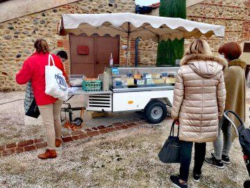 Fromager, marché de Tresserre