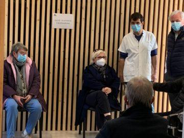 Vaccinations Covid-19 à la mairie de Tresserre