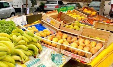 fruits et légumes, marché de Tresserre