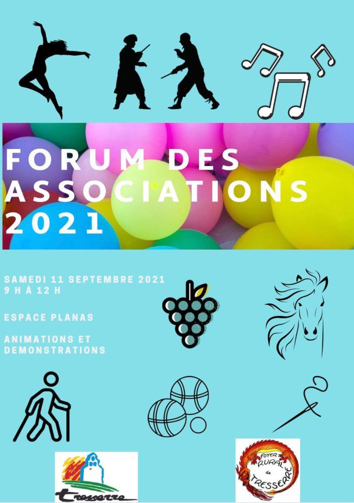 Forum des Associations 2021 à Tresserre