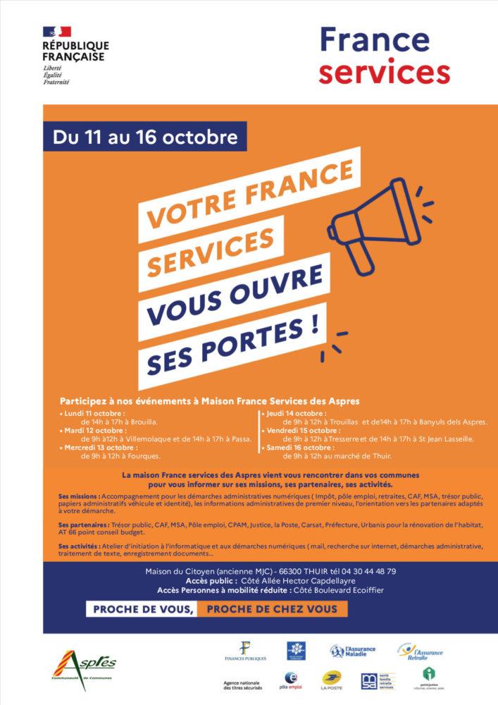 Portes ouvertes maison France Services